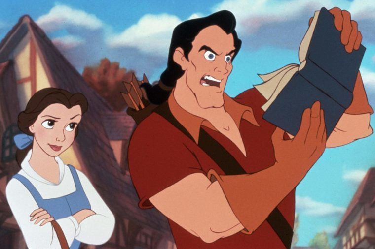 FILM STILLS OF 'BEAUTY AND THE BEAST' WITH 1991 IN 1991