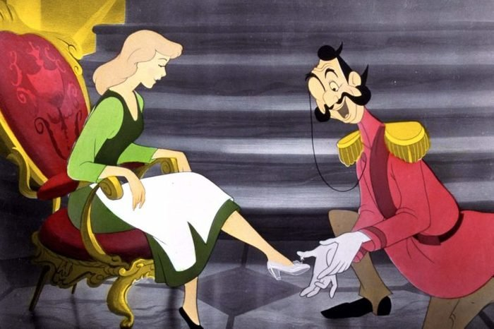 FILM STILLS OF 'CINDERELLA' WITH 1950, BEN SHARPSTEEN IN 1950