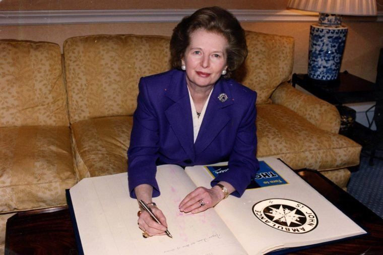 Margaret Thatcher, First Female Prime Minister Of England