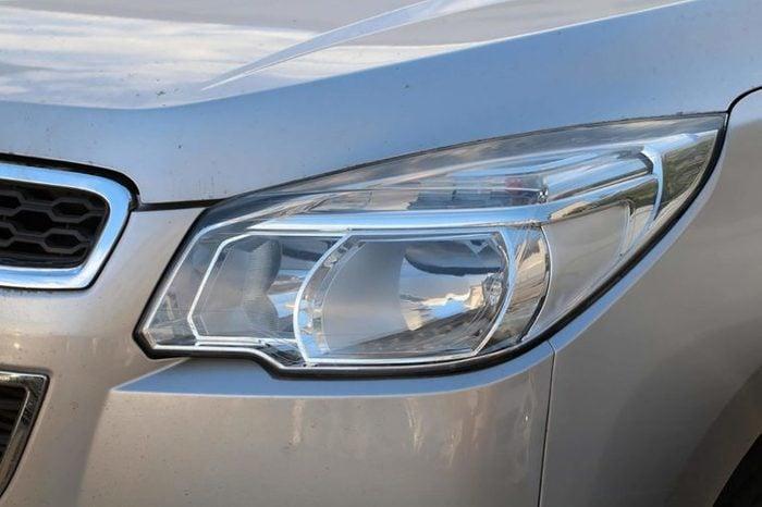 Modern car's headlight design