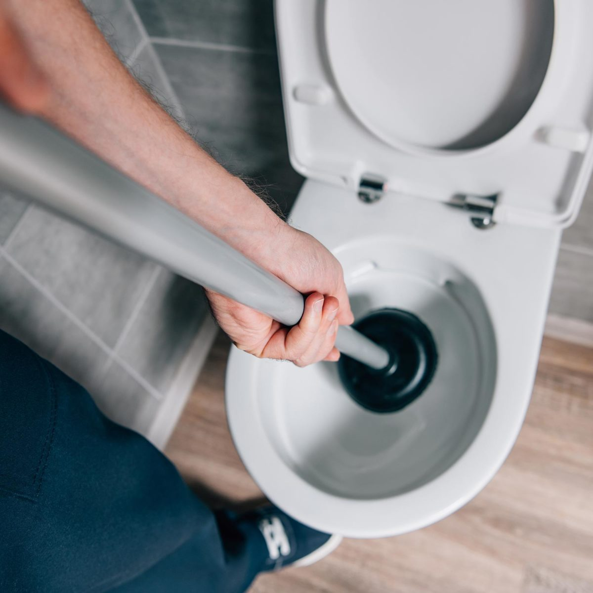 How to Unclog a Toilet Without a Plunger | Reader's Digest