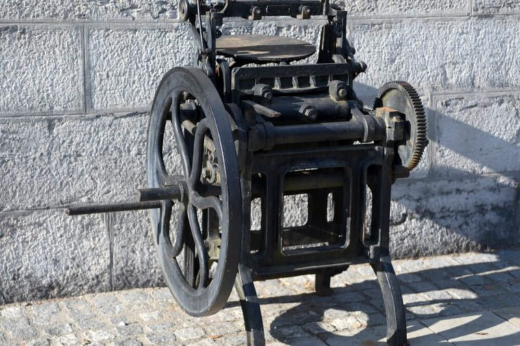 printing press_weird time facts