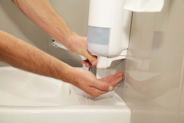 hand hygiene using soaps remedy reduce the spread infection.
