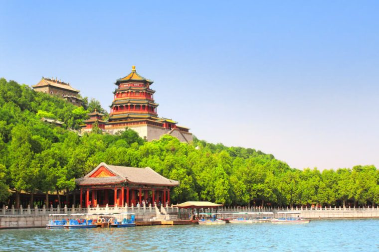 Imperial Summer Palace in Beijing, China