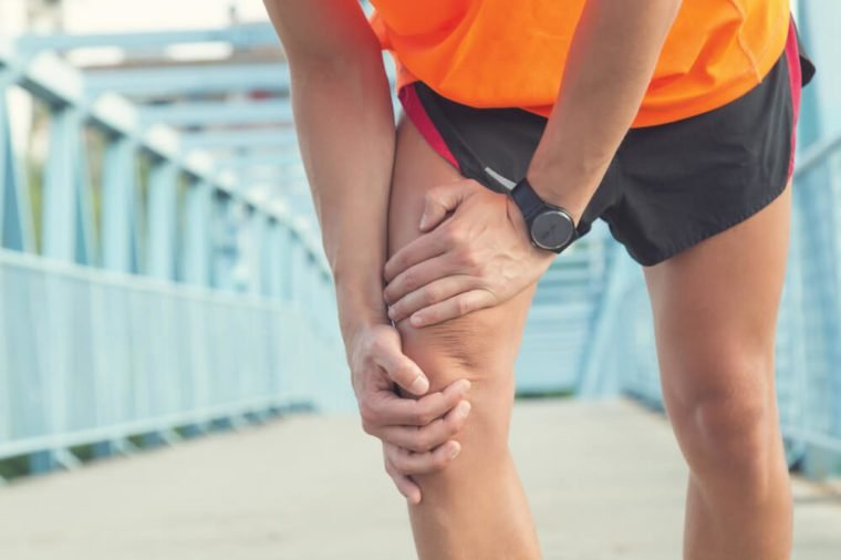 Always warm-up before jogging / exercise or injury occurs.