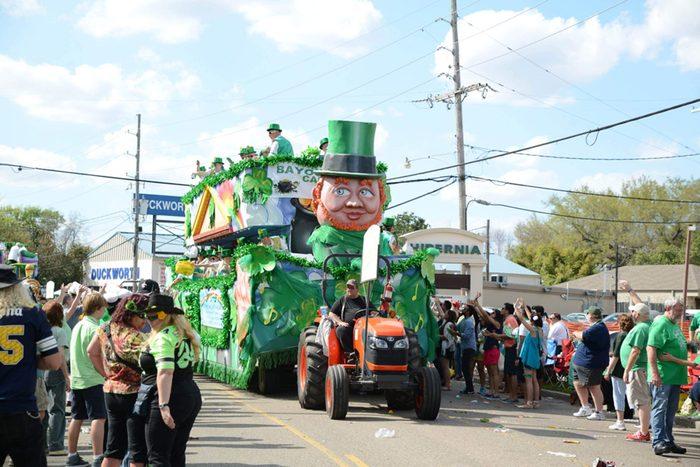 st patricks parade. st patrick's day fun facts.