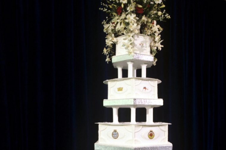 made princess diana wedding cake secrets you didn t about prince charles and princess 16976