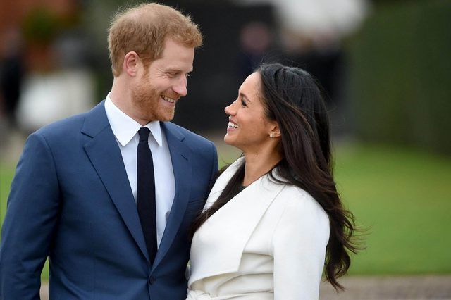 YEARENDER 2017 NOVEMBER Britain's Prince Harry pose with Meghan Markle during a photocall after announcing their engagement in the Sunken Garden in Kensington Palace in London, Britain, 27 November. Clarence House earlier 27 November 2017 announced the engagement of Prince Harry to Meghan Markle. 'His Royal Highness the Prince of Wales is delighted to announce the engagement of Prince Harry to Ms Meghan Markle. The wedding will take place in Spring 2018. Further details about the wedding day will be announced in due course.' the statement said.