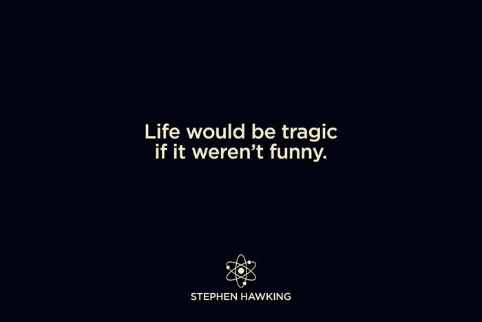 on laughter