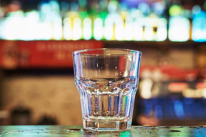 empty drink