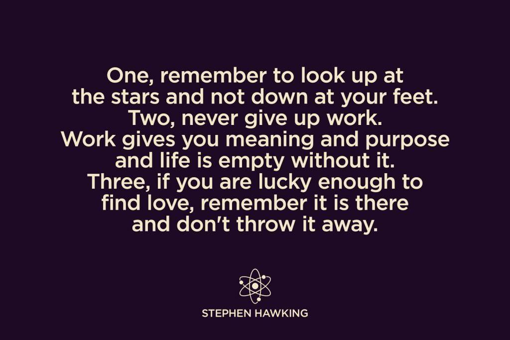 Stephen Hawking Quotes Worth Memorizing Reader S Digest