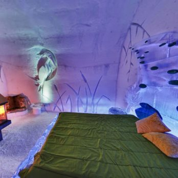 This Is What It's Really Like to Sleep in an Ice Hotel