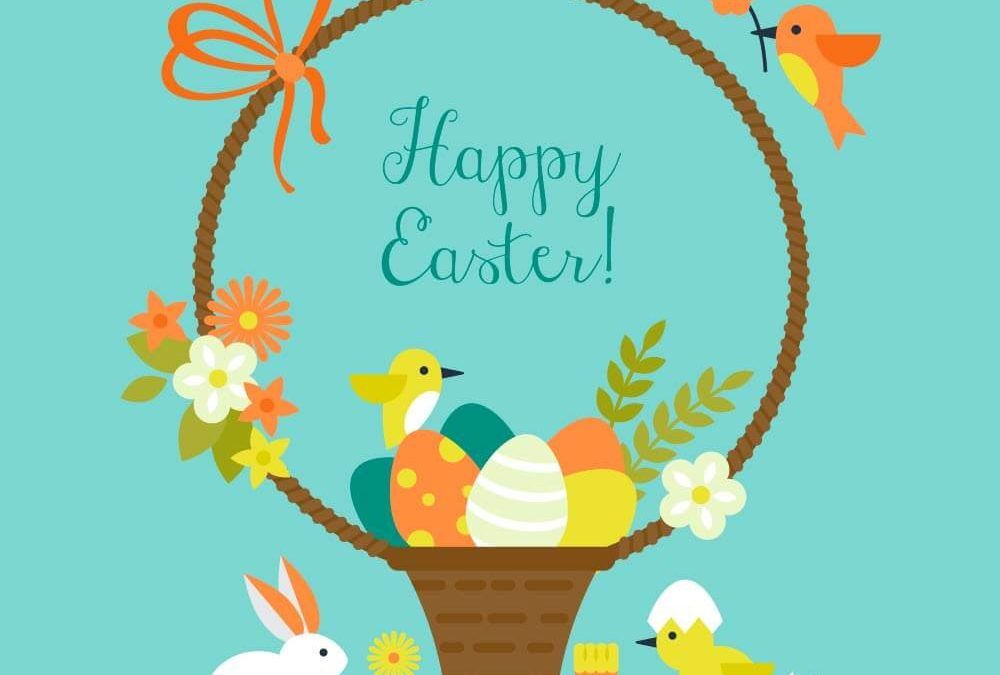 image relating to Happy Easter Cards Printable identified as Printable Easter Card and Present Tag Templates People Digest