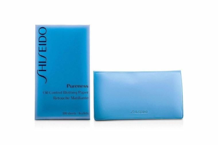 shiseido pureness blotting paper