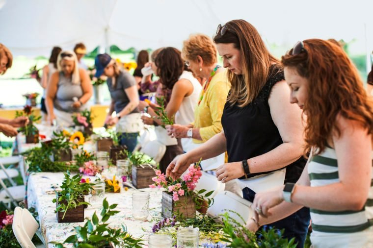 Morning Sun hosts farm-to-vase dinners