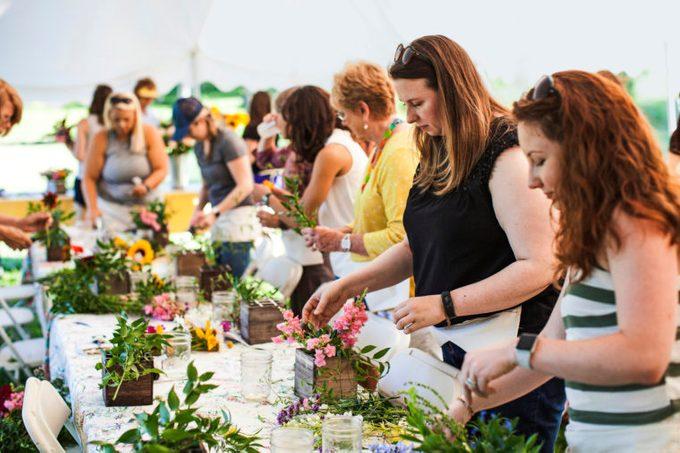 Morning Sun hosts farm-to-vase dinners