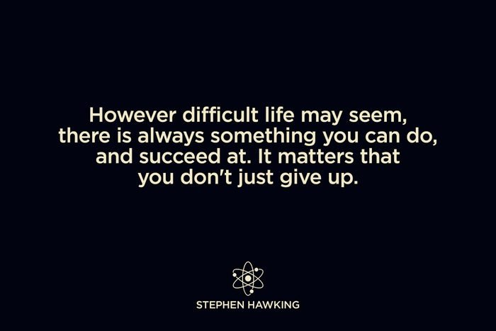 on perseverance