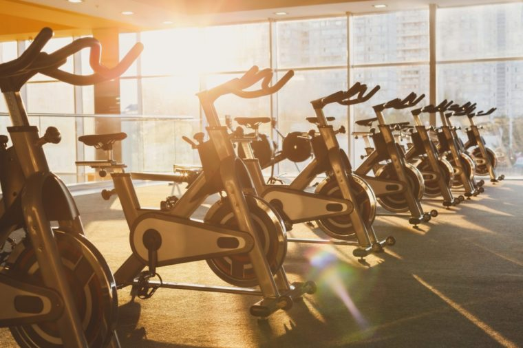 Secret dangers of popular gym machines reader 39 s digest - Put cotton ball trash can ...