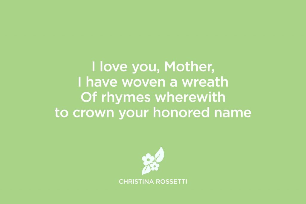 mother s day poems that will melt her heart reader s digest