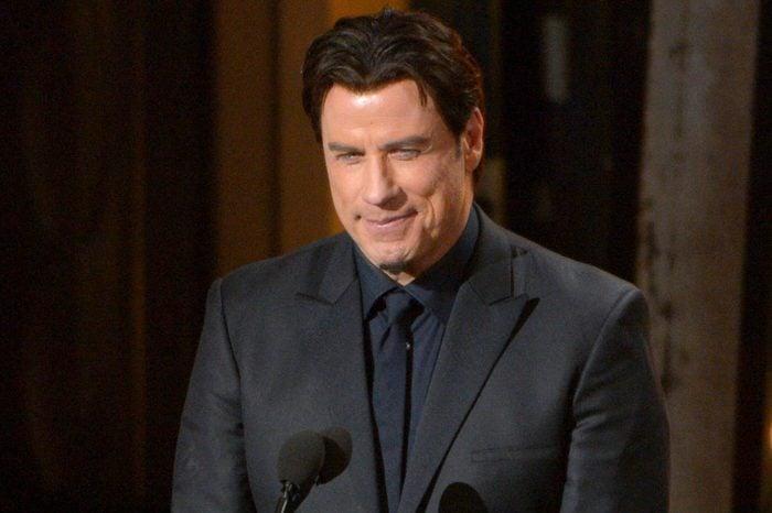 Presenter John Travolta