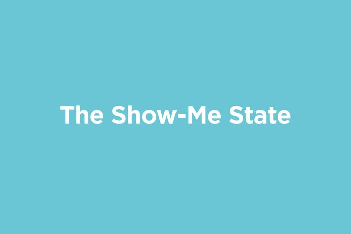 the show-me state