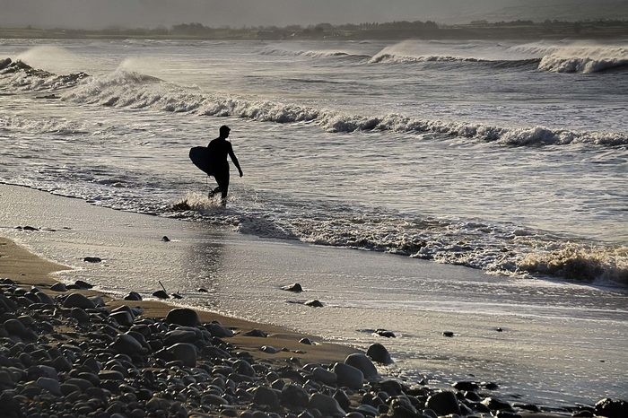 Strandhill County surfer