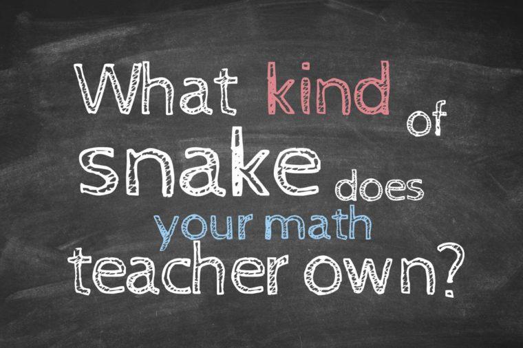 Math Jokes to Get Every Nerd Through Pi Day | Reader's Digest