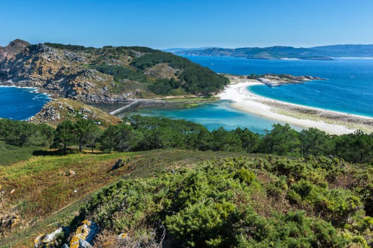 Cies Islands, National Park Maritime-Terrestrial of the Atlantic Islands, Galicia (Spain)
