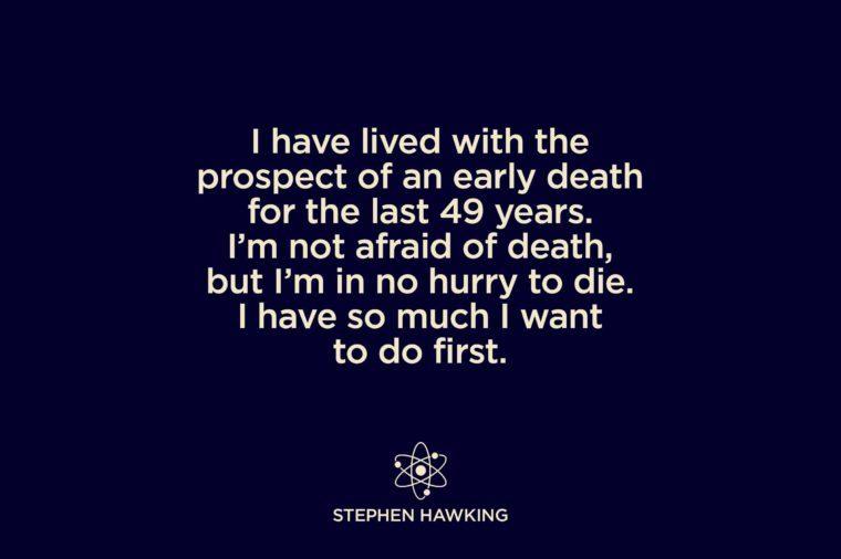 Stephen Hawking Quotes Worth Memorizing Readers Digest