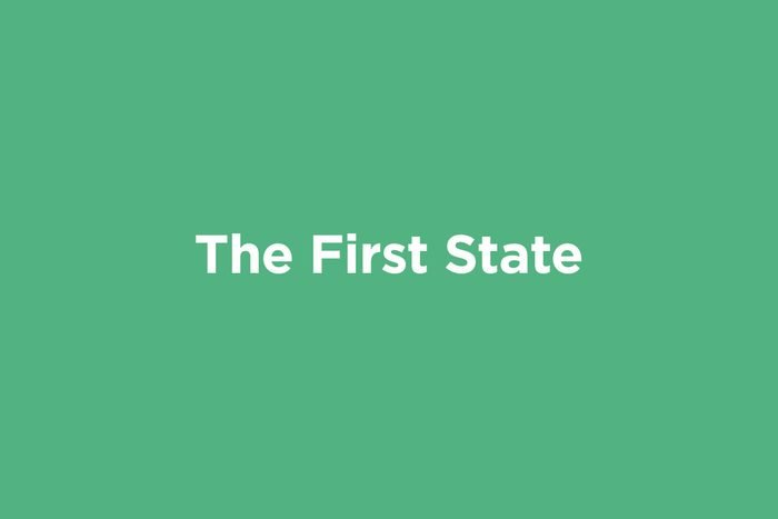 the first state