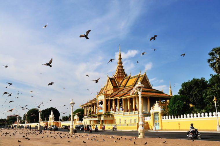 The Chanchhaya Pavilion of Royal Palace, Phnom Penh, Cambodia