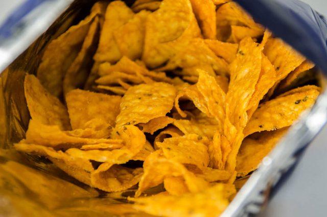 Chips / Nachos - Selective focus