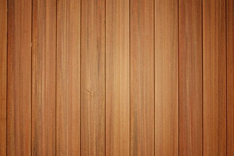 Wood wall made from many panel of wood.