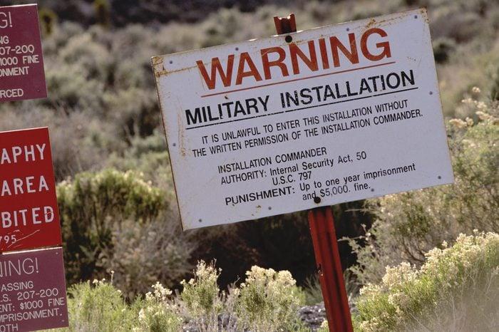Area - 51 near Rachael in Nevada