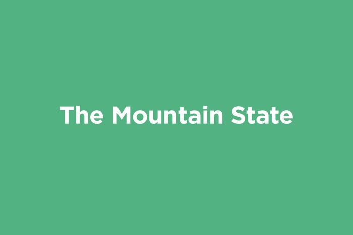 the mountain state