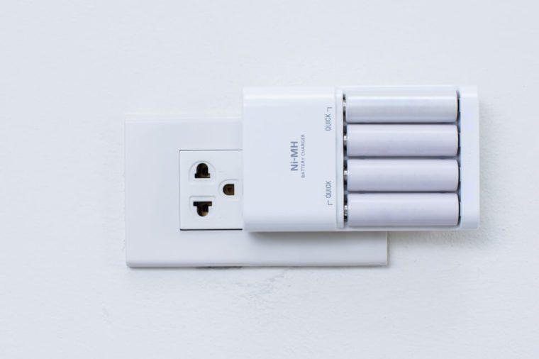 Charging AA Batteries