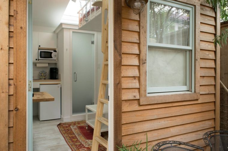 Tiny House In Houston Texas Via Airbnb