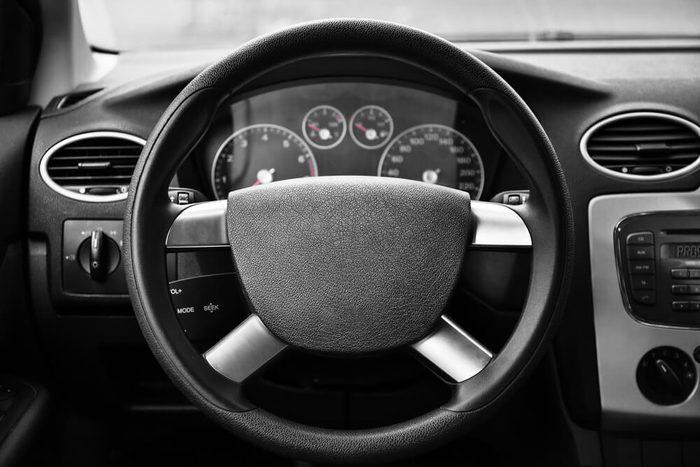 vehicle interior.
