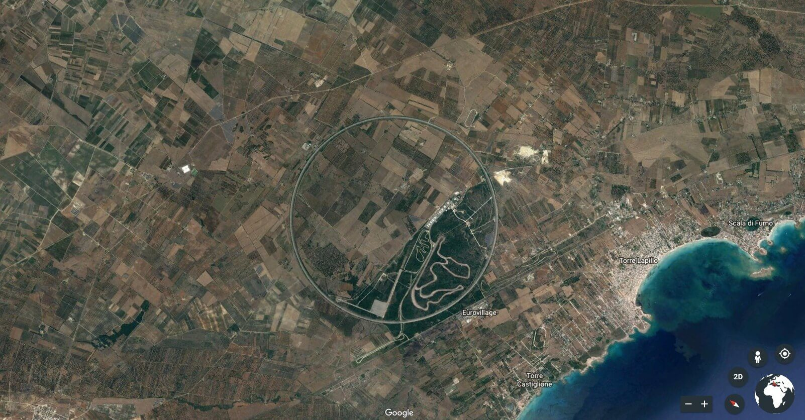 9-Long racetrack