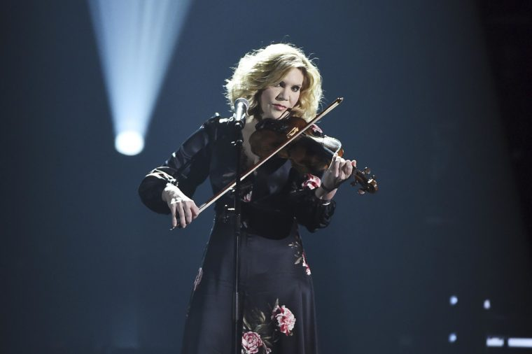Alison Krauss performs onstage at the 2018 MusiCares Person of the Year tribute honoring Fleetwood Mac at the Radio City Music Hall on in New York