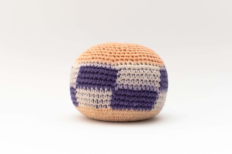 hacky sack isolated