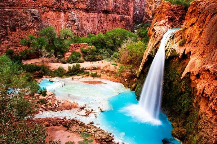 Havasu Falls, natural paradise in the Grand Canyon