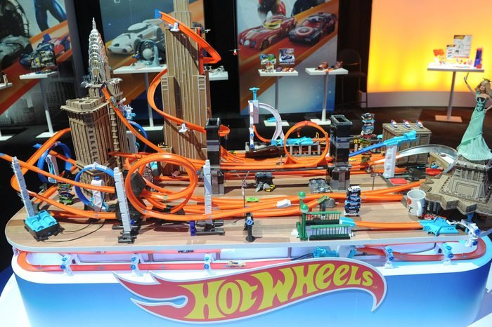 Hot Wheels showcases its top Track Builder sets at the New York Toy Fair