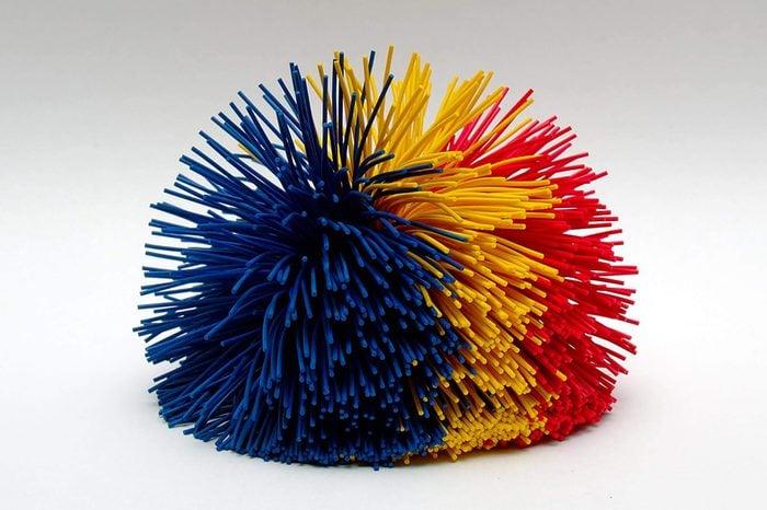 Multi-Colored Koosh Ball