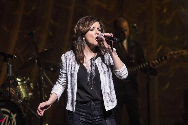 Martina McBride performs during the Martina McBride: The Everlasting Tour at the Cobb Energy Performing Arts Centre, in Atlanta
