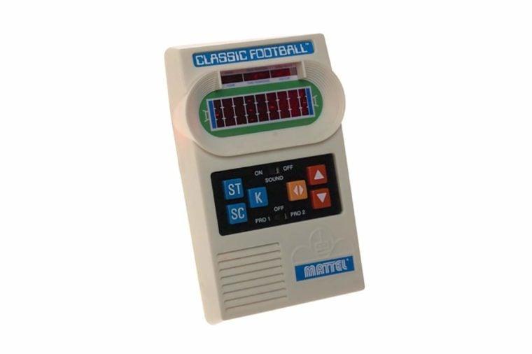 Classic Mattel Football game