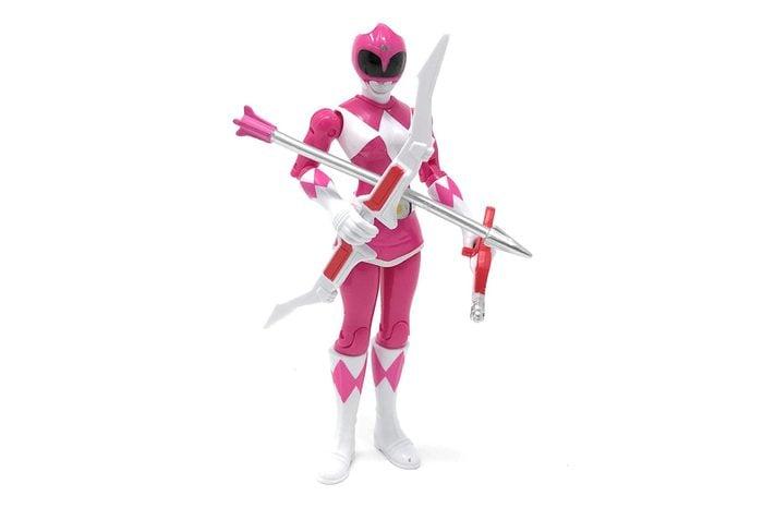 Pink Power Ranger action figure