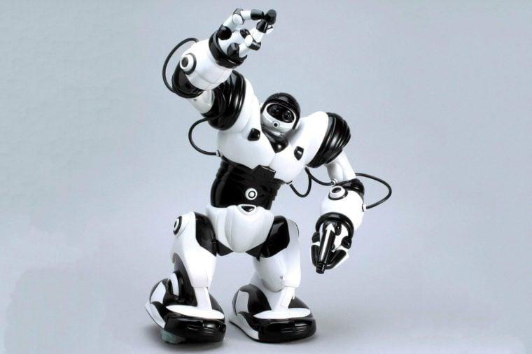 Robosapien humanoid robotic toy
