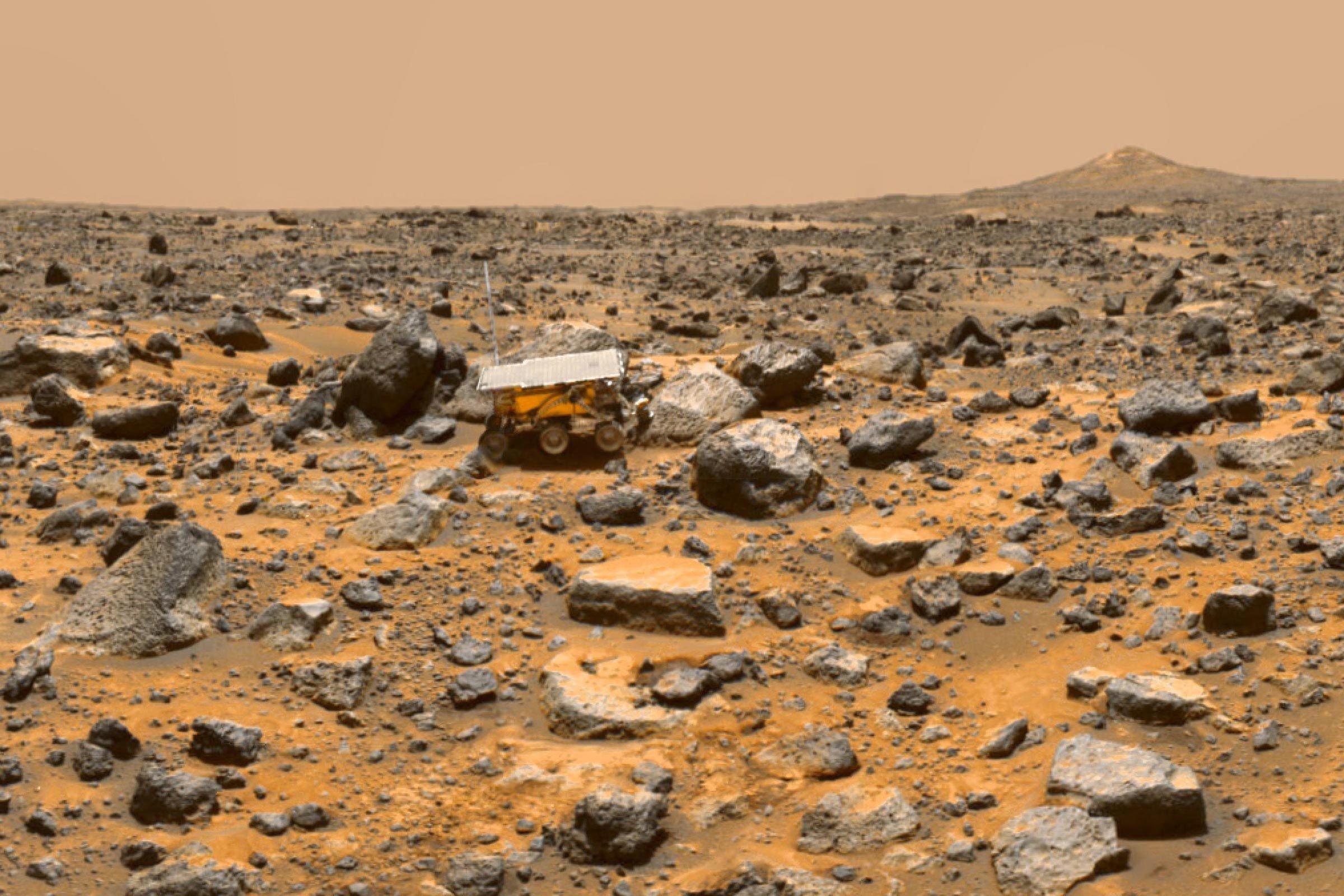 Pathfinder on Mars
