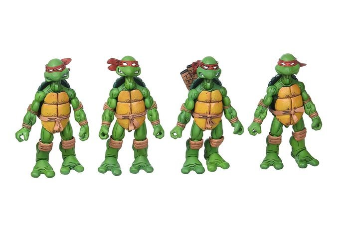 Original Teenage Mutant Ninja Turtles Comic Book action figures